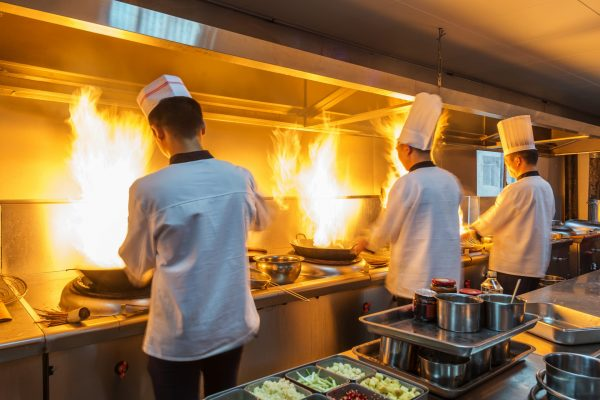 Kitchen exhaust clean to reduce fire risk